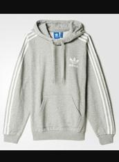 sweater,gray hoodie,adidas,grey
