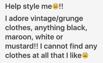 grunge skirt jacket denim the 1975 band merch style me mustard