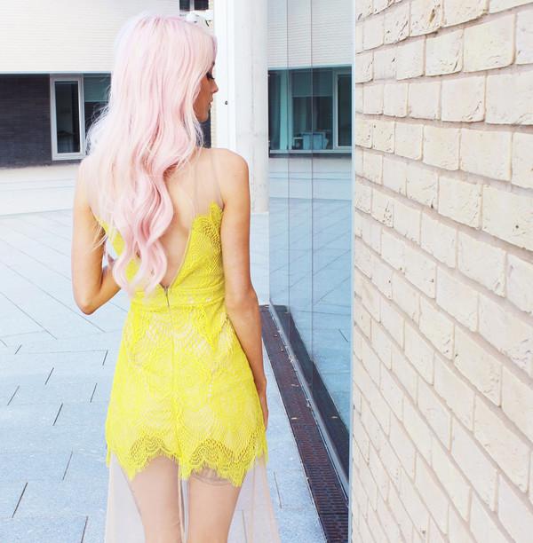 see through dress lace mesh dress streetstyle stylemoi sexy dress summer dress beach dress dropped waist cotton dresss cotton rib knitwear