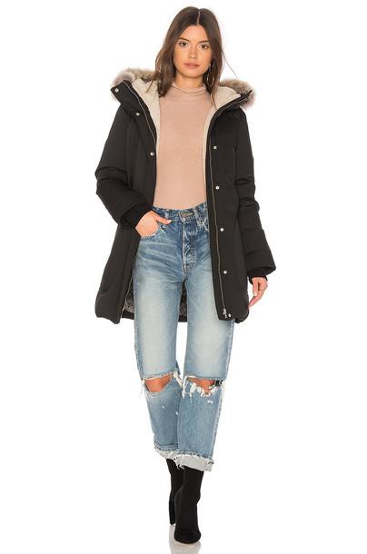 Soia & Kyo coat fur black