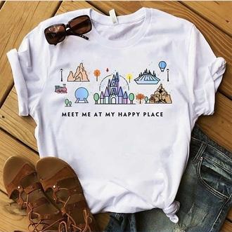 shirt magic kingdom disney castle disney princess