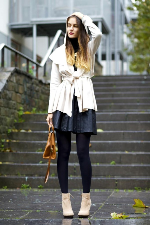 from brussels with love coat skirt shoes sweater bag jewels