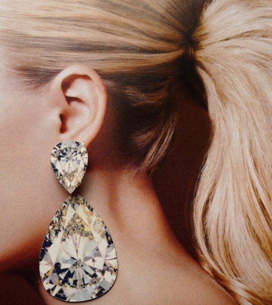 jewels, big, cristal, blogger, silver, gold, blond ...