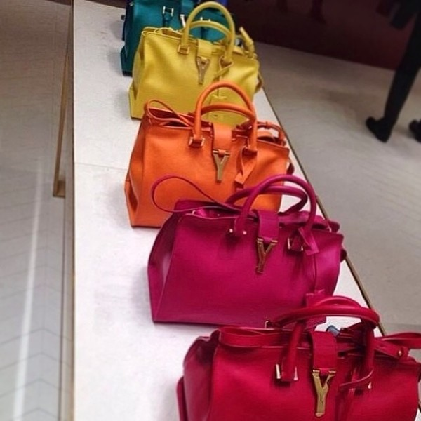 bag red pink accessories orange yellow blue
