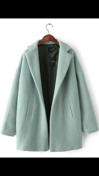 coat hipster coat pastel