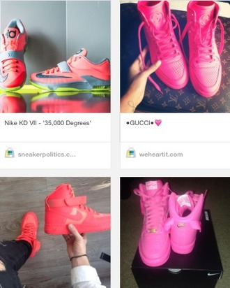 shoes nike gucci sneakers pink gucci shoes gucci shoes gucci pink sneakers pink nikes pink colorful shoes colorful cute dope trill dope shoes trill shoes dope shit urban shoes fashion statement shoes running shoes nike air nike shoes nike sneakers louis vuitton pink high top air forces tumblr