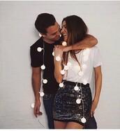 skirt,glitter,new year's eve,party,negin_mirsalehi