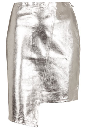 **Foil Wrap Skirt - The Collection Starring Kate Bosworth   - Clothing  - Topshop