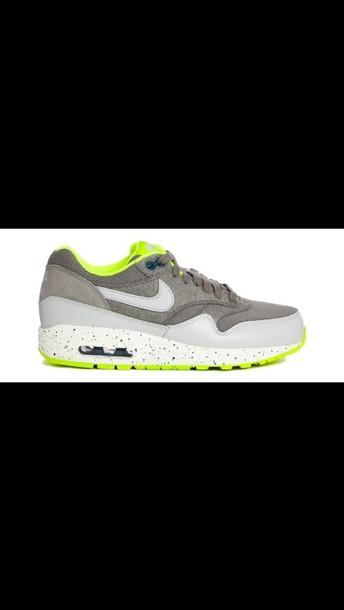 shoes nike air max grey green women vans gum sole