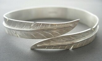 jewels ring feathers sterling silver hippie nature boho silver rings tumblr jewellery