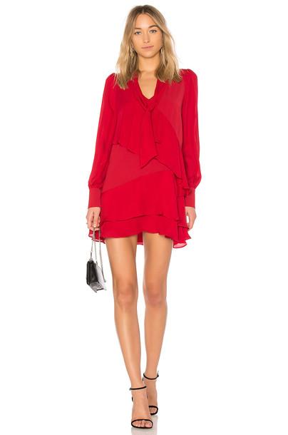 Parker dress red