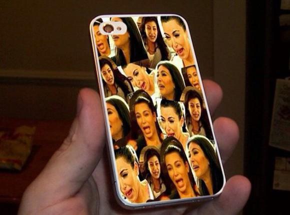 funny kim kardashian phone case