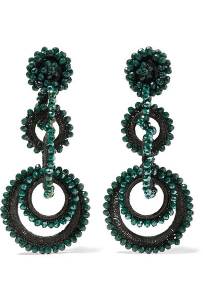 Bibi Marini earrings silk jewels