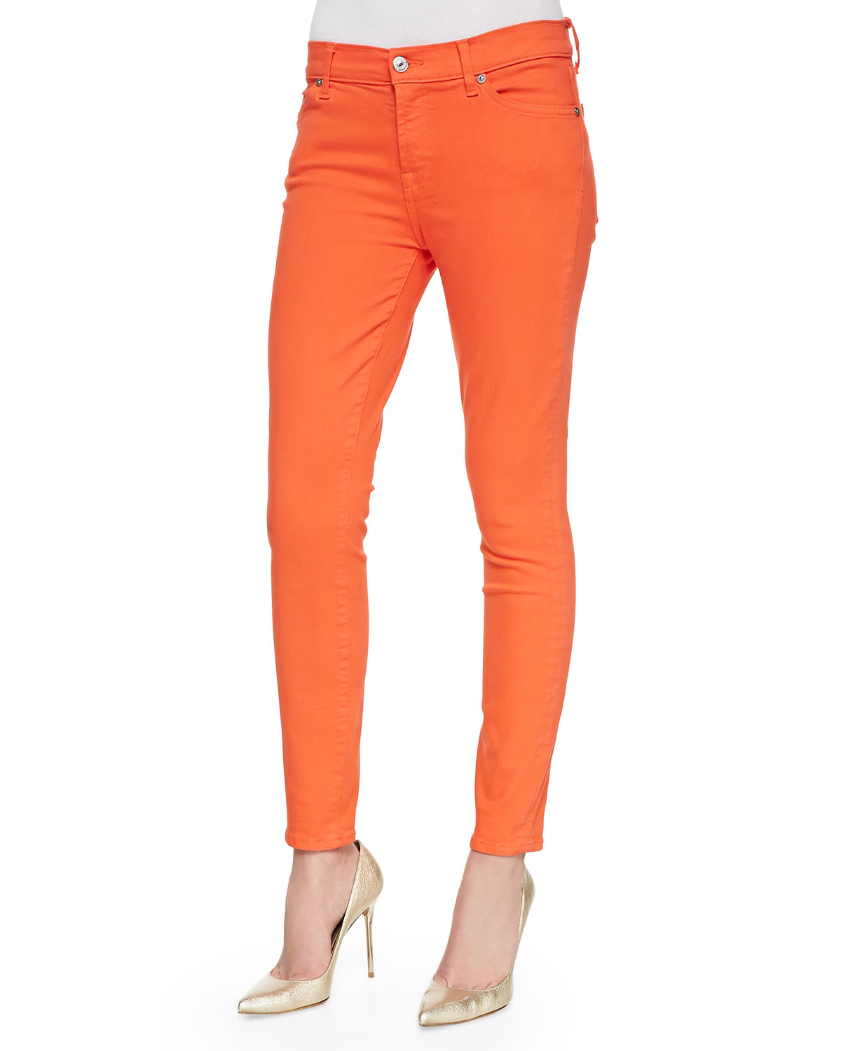 Free shipping and returns on Women's Orange Jeans & Denim at mediacrucialxa.cf