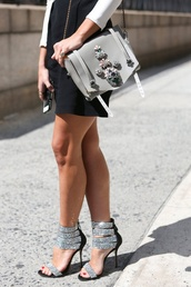 celebrity style,statement,bag,accessories,shoulder bag,embellished,desinger,shoes