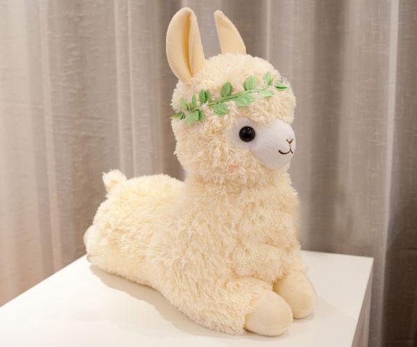 20 inches 50cm Arpakasso Alpacasso Alpaca Plush Toy Lovely Girl Bright Yellow | eBay
