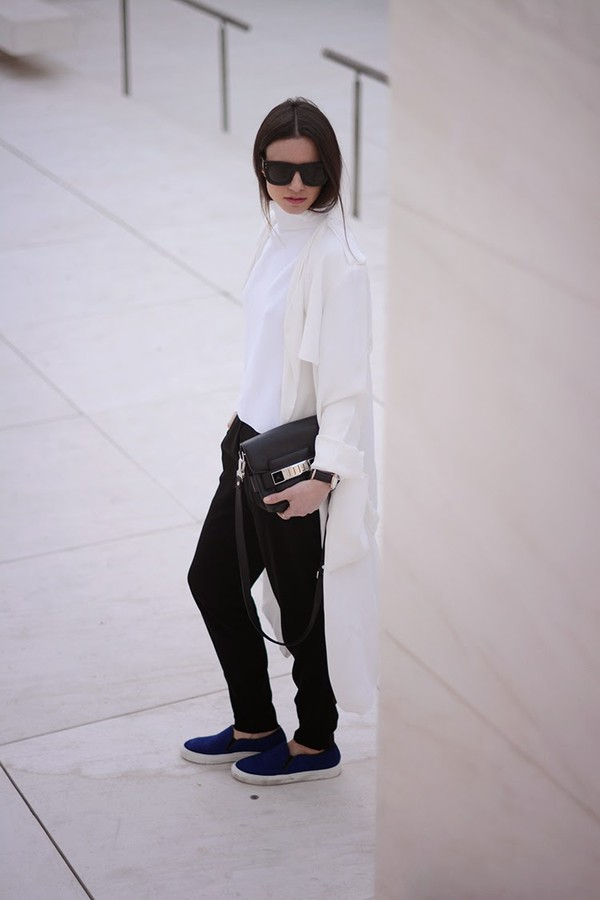 fashion vibe shoes pants coat bag sweater sunglasses