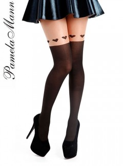 Pamela Mann Large Overknee Heart Tights - Tights, Stockings, Shapewear and more -  MyTights.com - The Online Hosiery Store