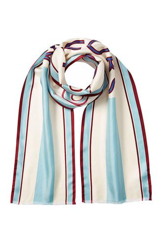 scarf silk scarf silk multicolor