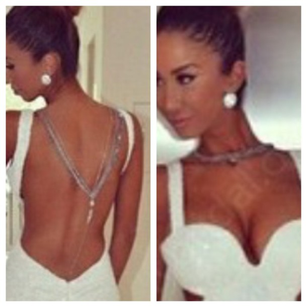 jewels silver necklace body chain body chain necklace body chain prom dress earphones