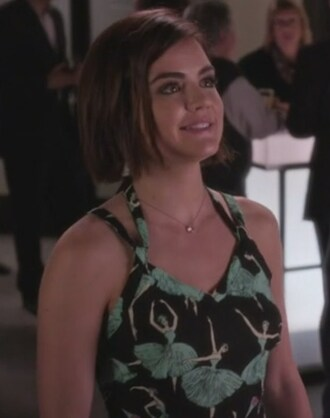 dress ballerina aria montgomery pretty little liars lucy hale ballet