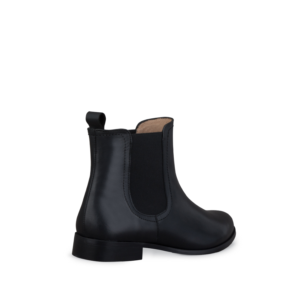 Brando Black Ladies Ankle Boots | DUO