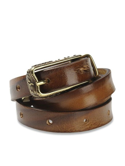 diesel brown leather belt bigiorgi