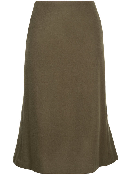 Estnation skirt women wool green