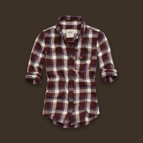 Women's AE Plaid Boyfriend Shirt - American Eagle Outfitters