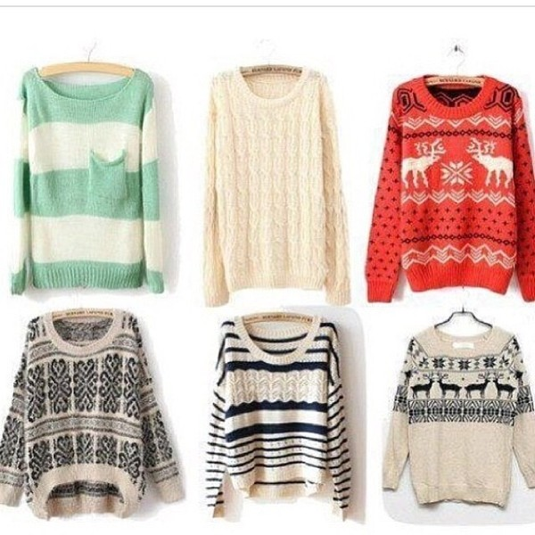 sweater tumblr stripes solid