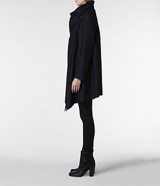 Womens City Monument Coat (Ink) | ALLSAINTS.com