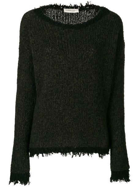 sweater women silk green