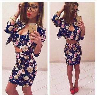 dress print skirt flowers floral style cute skirts flower skater skirt fashion floral tank top floral skirt