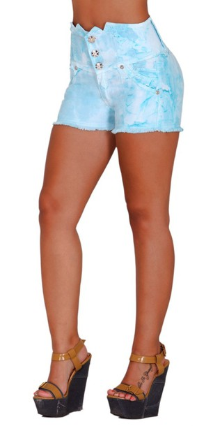 High Waisted Shorts is the new sexy. This outfit is definitely an apparel to try. When you want to show off your legs, thighs, and curvy body, you may wear a high-waist short and pair it up with any style of upper garments. It will make you look like a teenager and you will appear tall because of the style of the shorts.
