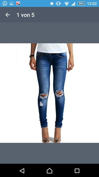 jeans ripped ripped jeans