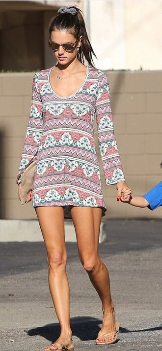 romper alessandra ambrosio summer outfits