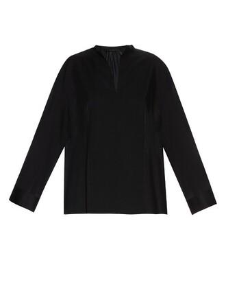 top wool black