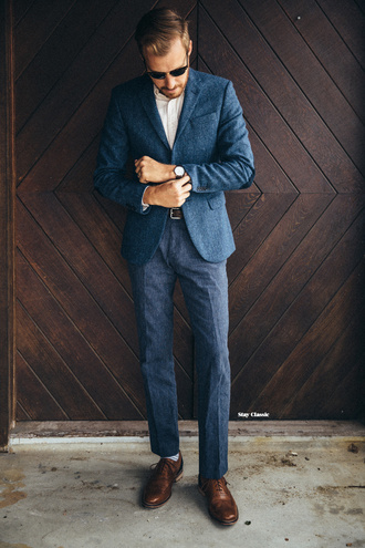 stay classic blogger jacket shirt shoes pants dress belt jewels sunglasses