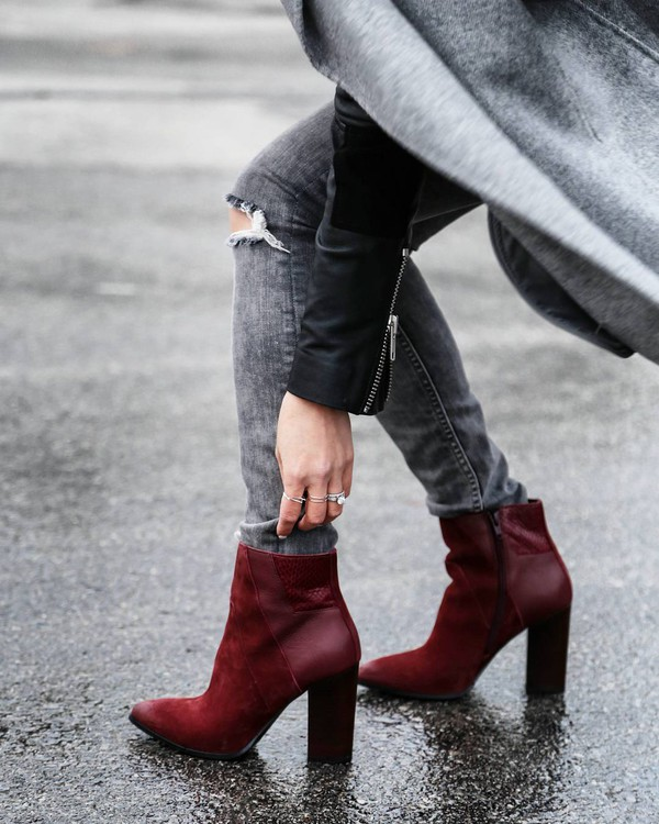 Ankle boots are huge this fall, but don't be caught wearing yours in a way that is unflattering to your legs and feet!