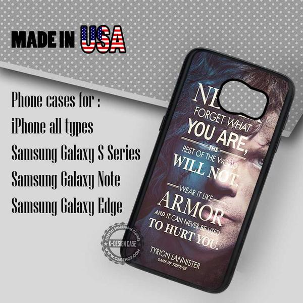 Samsung S7 Case - Tyrion Lannister Quote - iPhone Case #SamsungS7Case #GameofThrones #yn