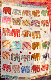 scarf,blanket,elephant,colorful,multicolor,throw