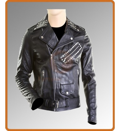 All around the World Justin Bieber Black Leather Jacket