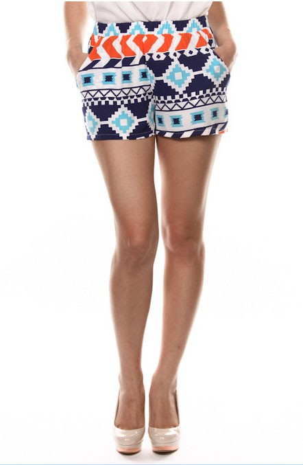 Cute As Can Be Printed Shorts