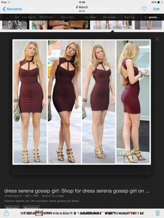 dress gossip girl blake lively bodycon dress bodycon serena van der woodsen blair waldorf