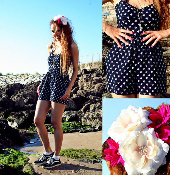 jewels floral headband dress