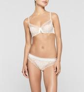 underwear,white lace,panties,bra,calvin klein