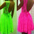 Shop Zoulou - Neon Lace Dress