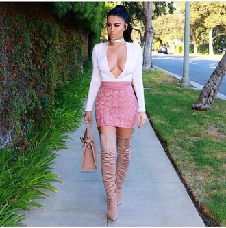 skirt amrezy pink skirt mini skirt