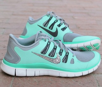 shoes mint green shoes glitter sparkly