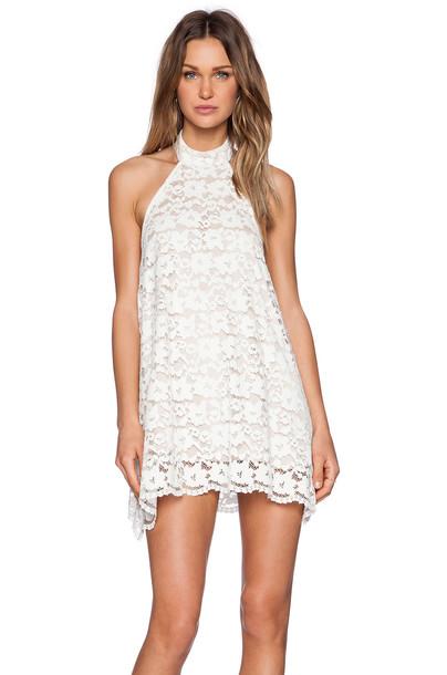 NBD dress white
